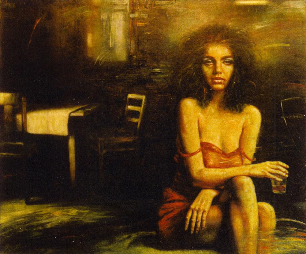 ignacy_bulla_malarstwo_portret_pani_X_1984