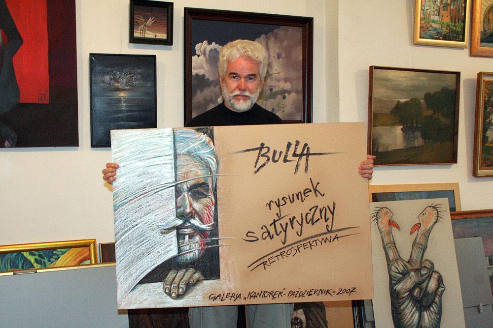 ignacy_bulla_plakat_wystawa_rysunek_satyryczny_2007_zdjecie
