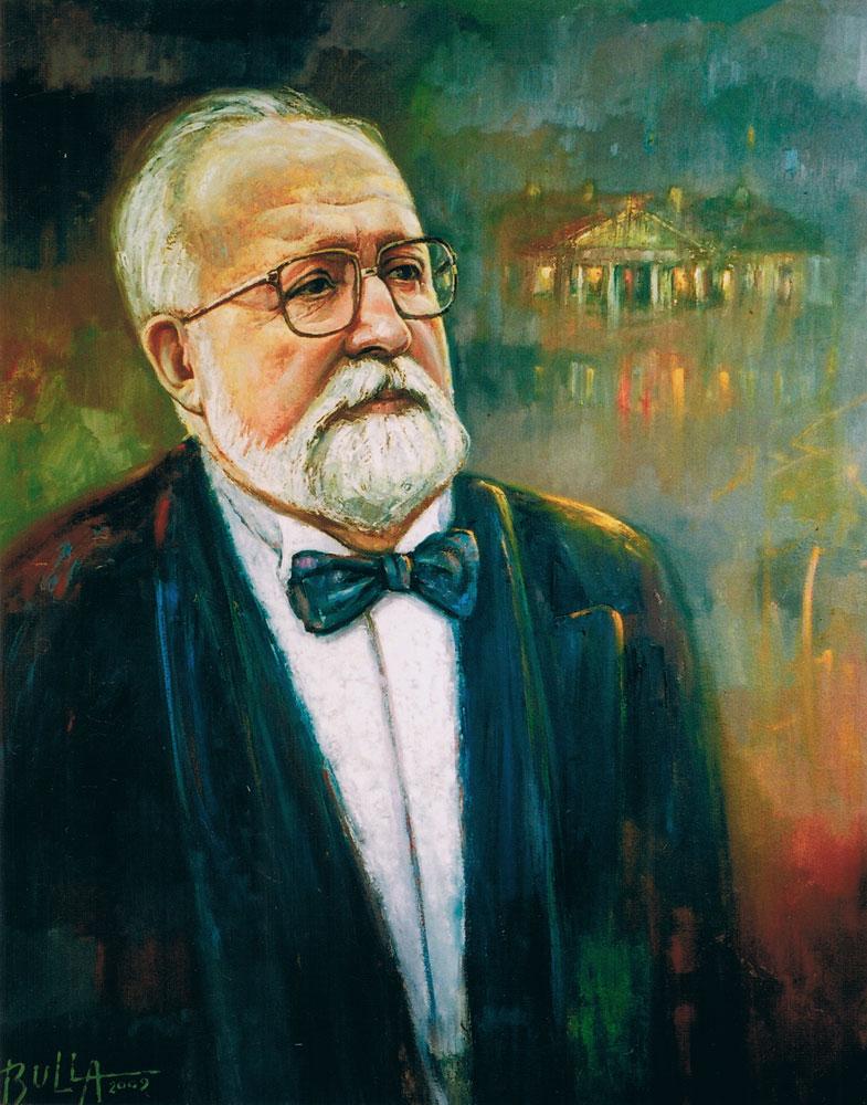 ignacy_bulla_portret_Krzysztofa_Pendereckiego_2009
