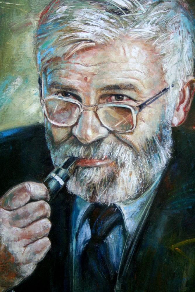 ignacy_bulla_portret_Wieslawa_Wozniaka_2005_fragment