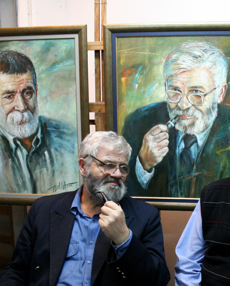 ignacy_bulla_portret_Wieslawa_Wozniaka_2005_zdjecie_z_portretowanym-2