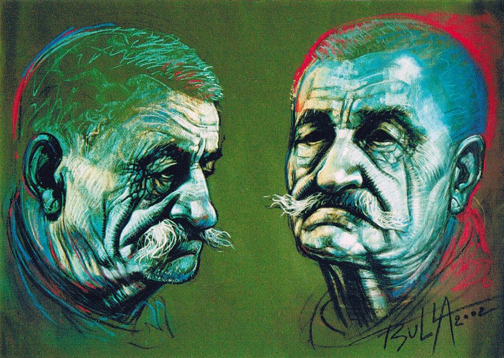 ignacy_bulla_portret_Zawidziany-VII_2002