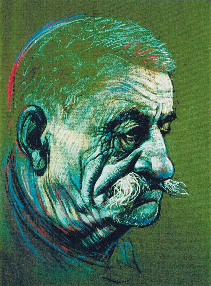 ignacy_bulla_portret_Zawidziany-VII_2002_fragment-1