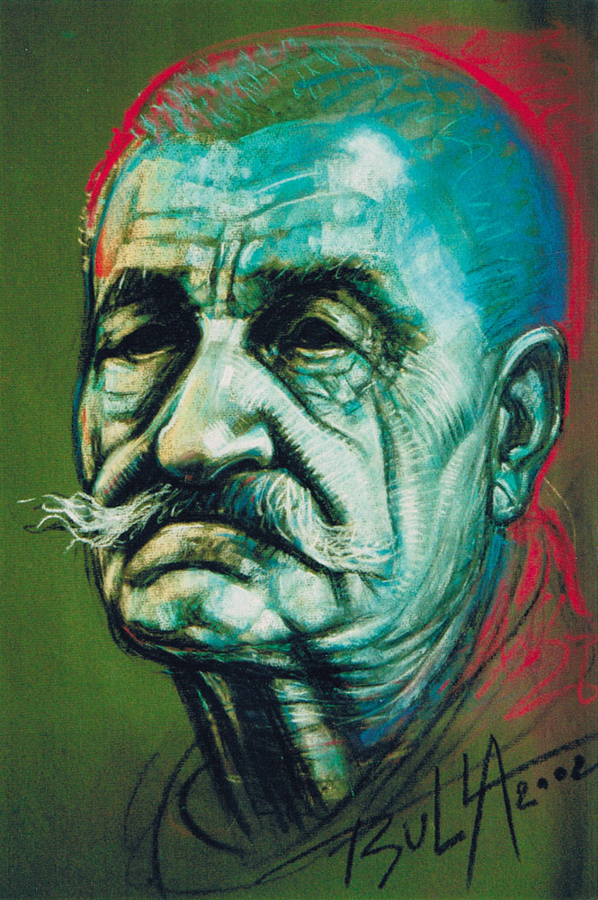 ignacy_bulla_portret_Zawidziany-VII_2002_fragment-2