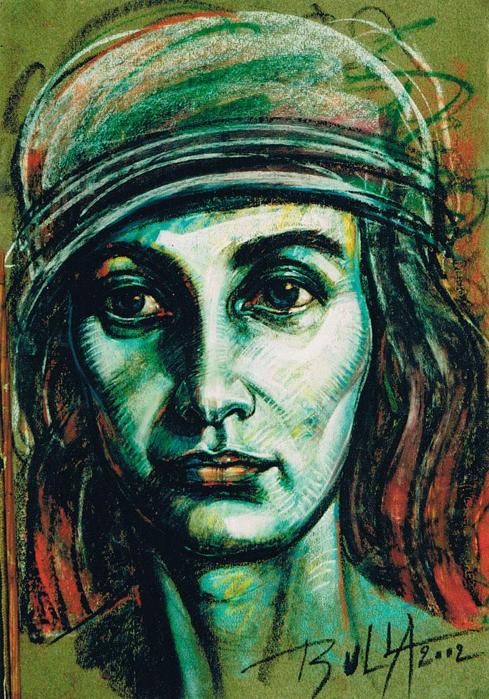 ignacy_bulla_portret_Zawidziany-V_2002