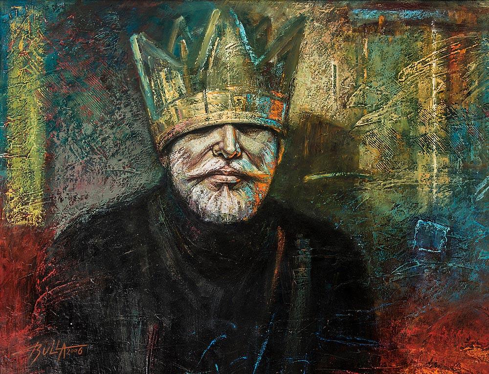 ignacy_bulla_portret_autoportret_w_koronie_2006